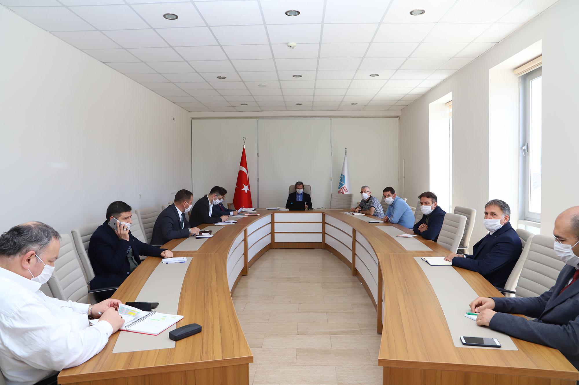 İdari Birim Amirleri Toplantısı 7'nci Oturumu Gerçekleştirildi