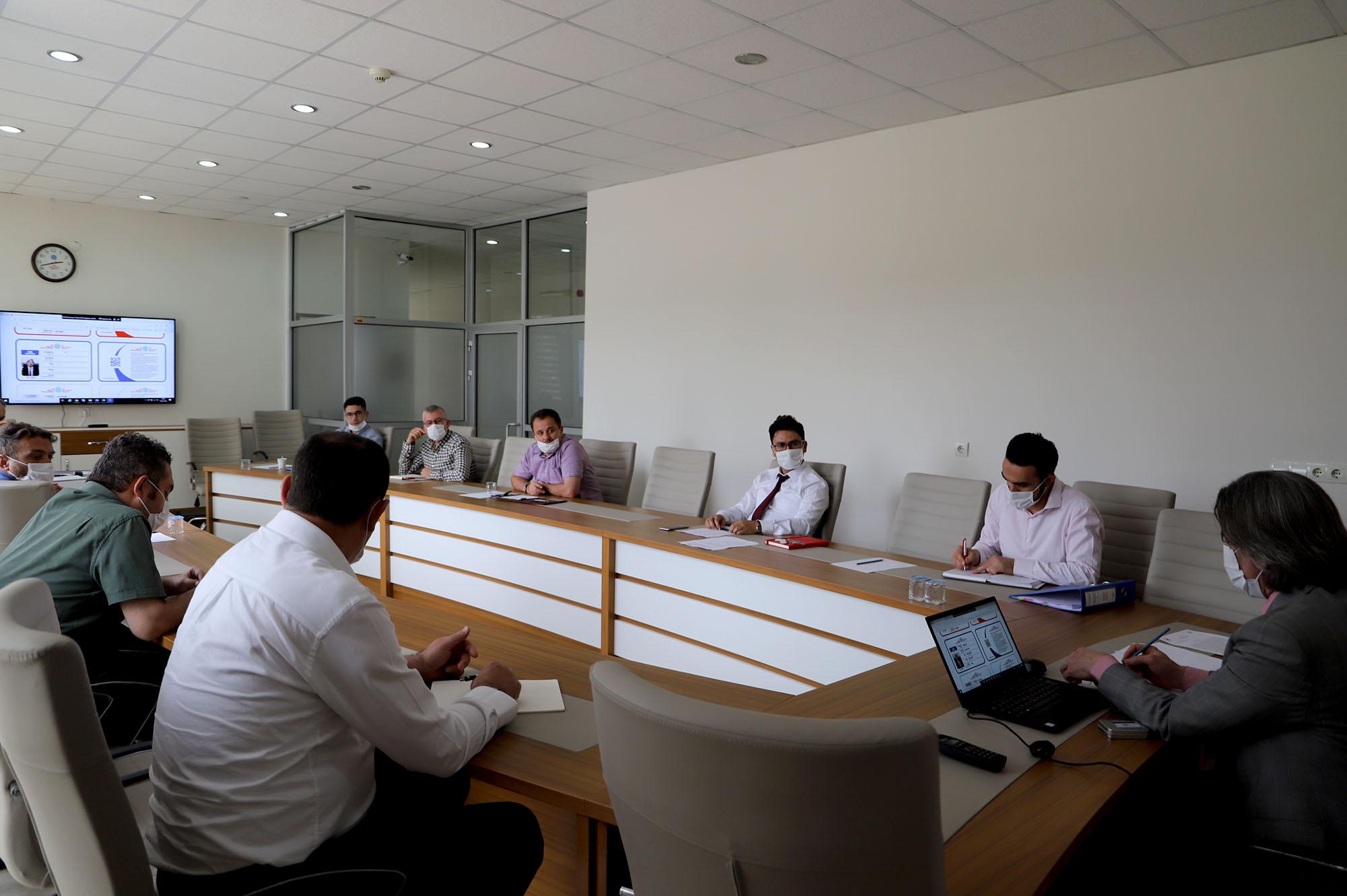 İdari Birim Amirleri, İstişare Toplantısında Bir Araya Geldi