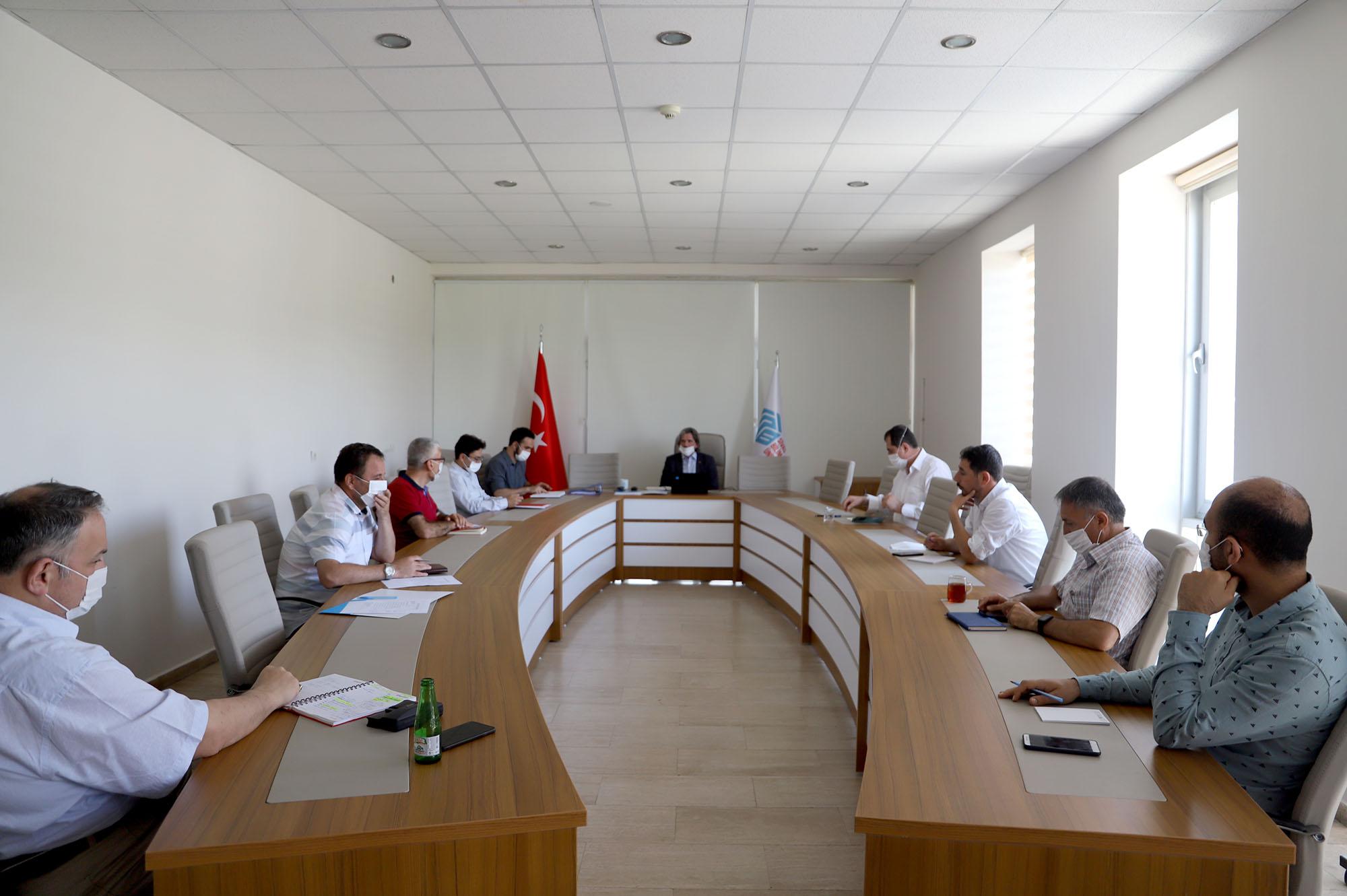 İdari Birim Amirleri İstişare Toplantısı Gerçekleştirildi