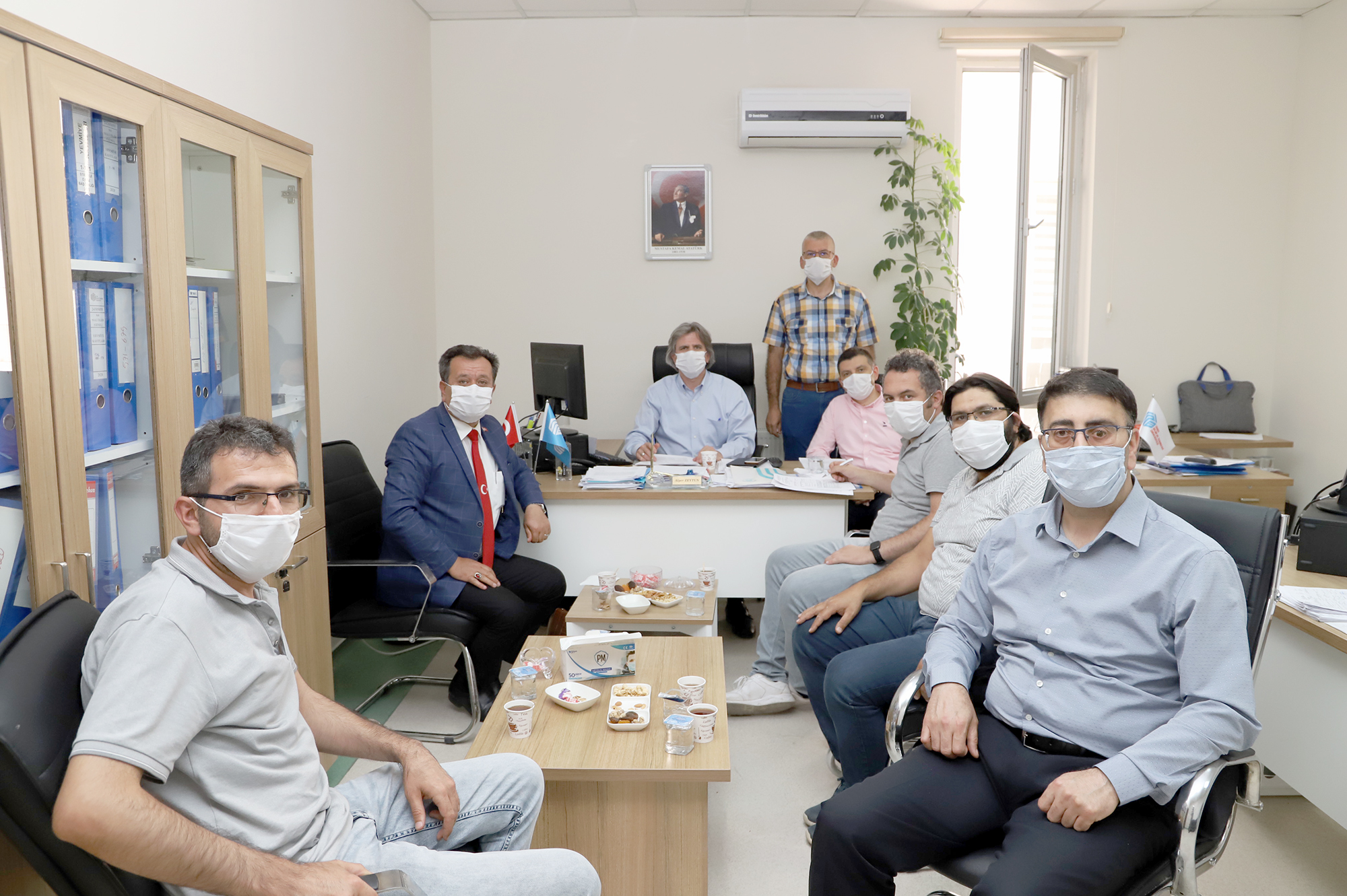 Sendika Üyeleriyle Toplantı Yapıldı